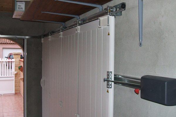 atmosphère porte portail garage juvignac sète montpellier lunel - Portail De Garage Coulissant Sur Rail